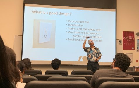Engineer promotes alternative energy at City College