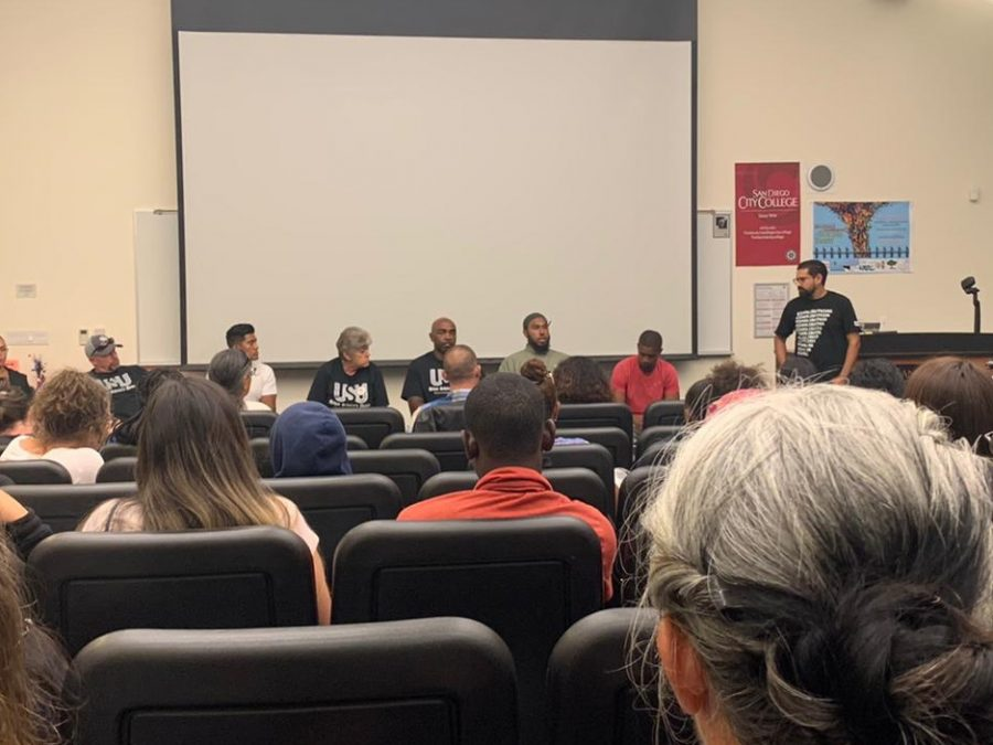 Formerly+incarcerated+students+share+their+stories+at+the+first+World+Cultures+event.++Photo+by+Vicky+Pineda