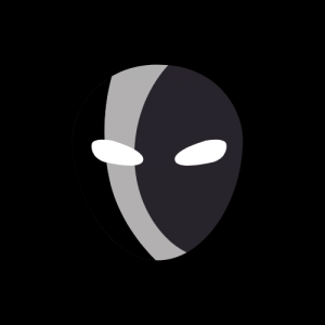 A graphic of a burglar