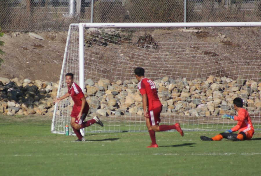 Knights men's soccer gets first win of season