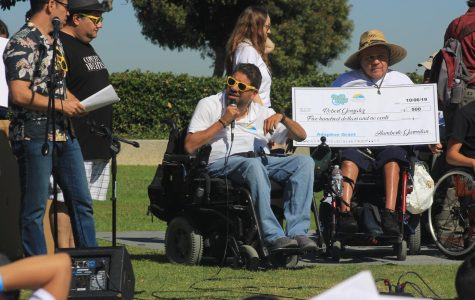City College professor gives back during Walk and Roll SD